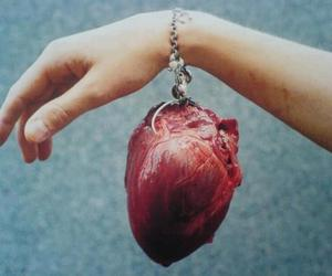 heart, hand, and bracelet image