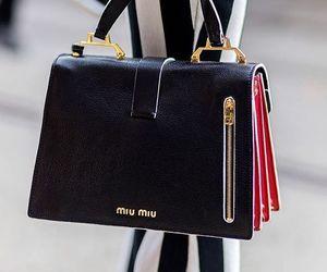 bag, miu miu, and purse image