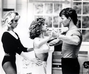black and white and dirty dancing image
