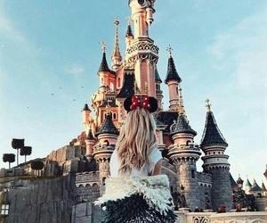 disney, disneyland, and castle image