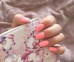 acrylics, fake nails, and glow image