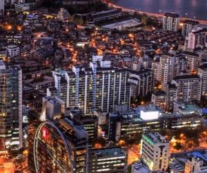 city, korea, and seoul image