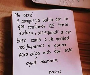 beso, frases, and love image