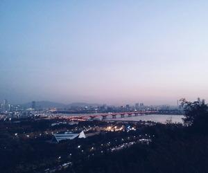 city, seoul, and cityscape image