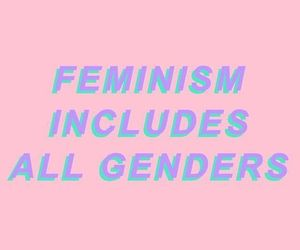 feminism, pink, and gender image