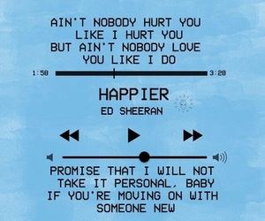 happier and ed sheeran image