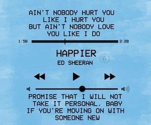 happier and ed sheeran image