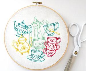 coffee art, etsy, and tea image
