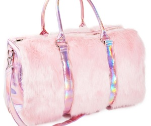 bag, pink, and accessories image