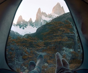 adventure, mountain, and camping image
