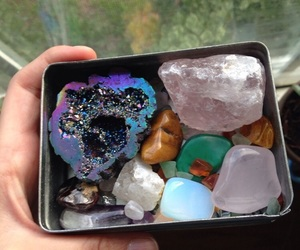 aesthetic and crystal image
