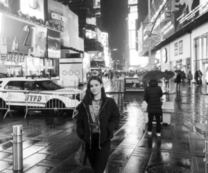black & white, black and white, and new york image