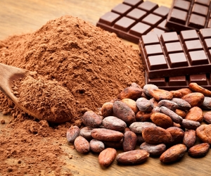 chocolate, cocoa, and powder image