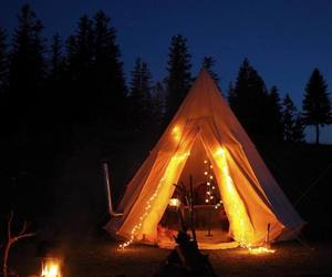 adventure, camping, and explore image