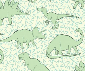 background, dinosaur, and wallpaper image