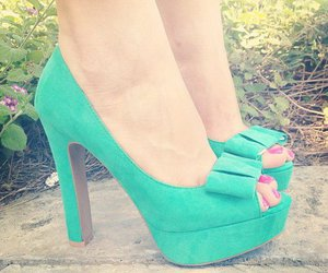 pretty, shoes, and fashion image