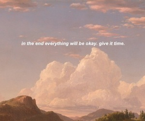 quotes, sky, and time image