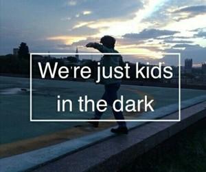 dark, grunge, and kids image