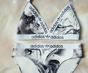 adidas, bikini, and swimwear image