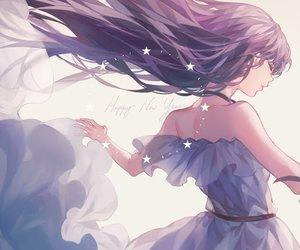 anime, dress, and girl image