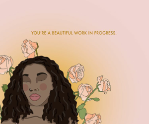 art, drawing, and empowerment image