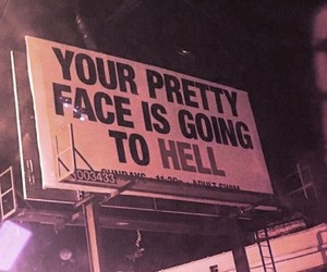 hell, grunge, and pretty image