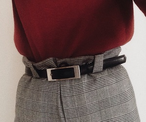 aesthetic, belt, and chic image