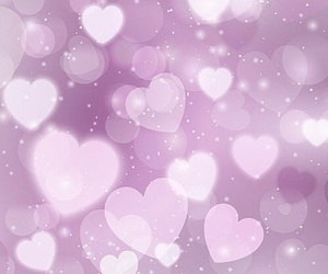 wallpaper and hearts image