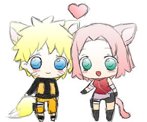 adorable, chibi, and naruto image