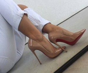 chic, highheels, and lady image