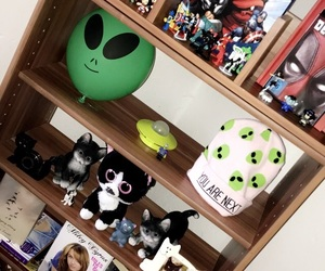 alien, cat, and collection image