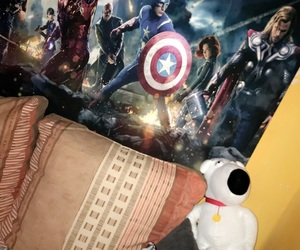 Avengers, Marvel, and brian griffin image