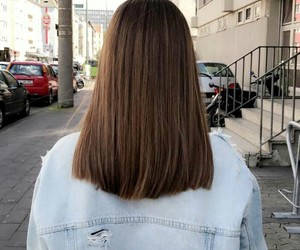 hair, girl, and jeans image
