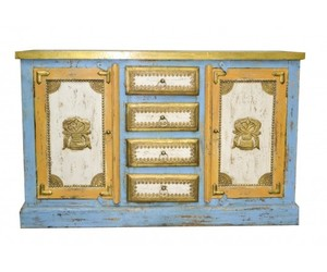 vintage industrial, balinese furniture, and timber sideboard image