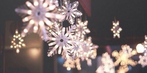christmas, winter, and snowflake image