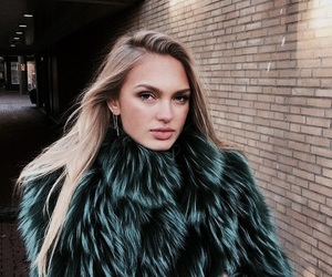 model, girl, and romee strijd image