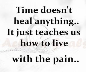 pain, quotes, and word image