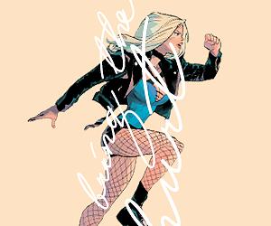 Black Canary, dc comics, and dinah laurel lance image