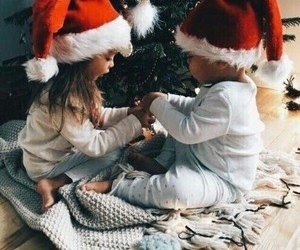 baby, new year, and christmas image
