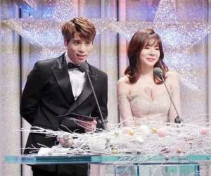 couple, SHINee, and so nyeo shi dae image