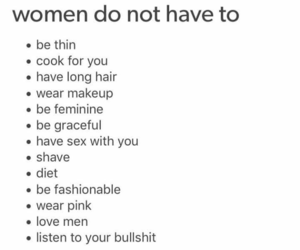 woman, quotes, and feminist image