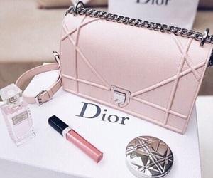 dior, bag, and pink image
