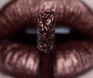 lips, lipstick, and beauty image