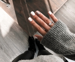 girl, nails, and fashion image