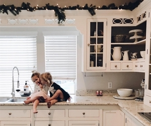 baby, christmas, and family image