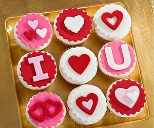cupcakes, eat, and foodart image