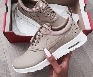 beige, shoe, and fashion image