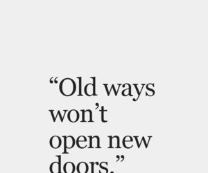 quotes, life, and doors image