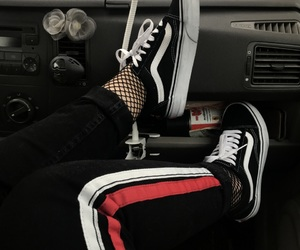 black, car, and jeans image
