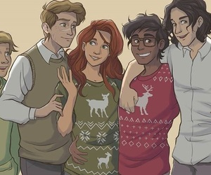 harry potter, james potter, and remus lupin image